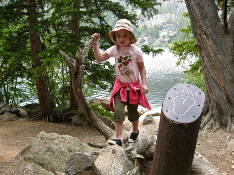 For those with younger children, keep your first outdoor family adventure hike short.