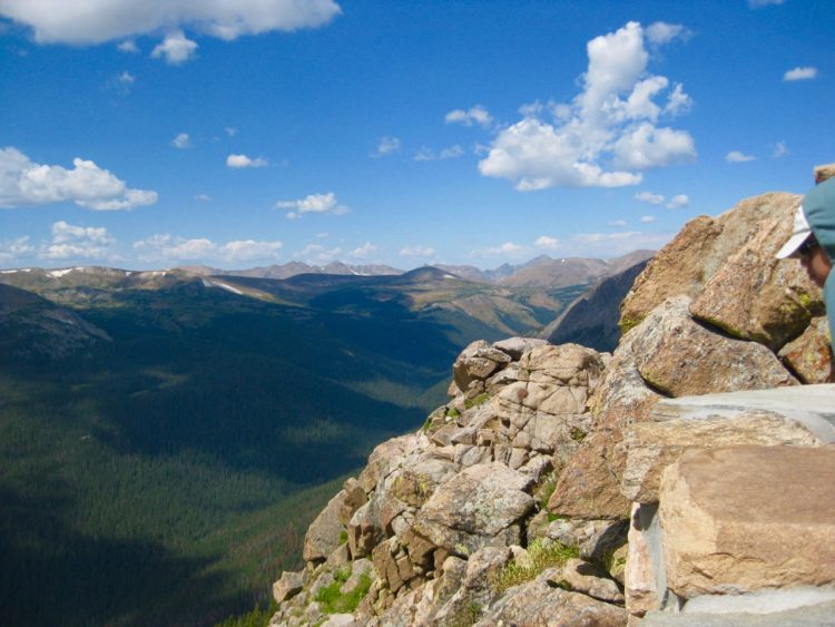 Hiking in Colorado..Stay away from the edge on your family outdoor adventure!