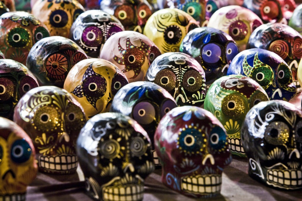 Sugar skulls. Photo credit: Pixabay