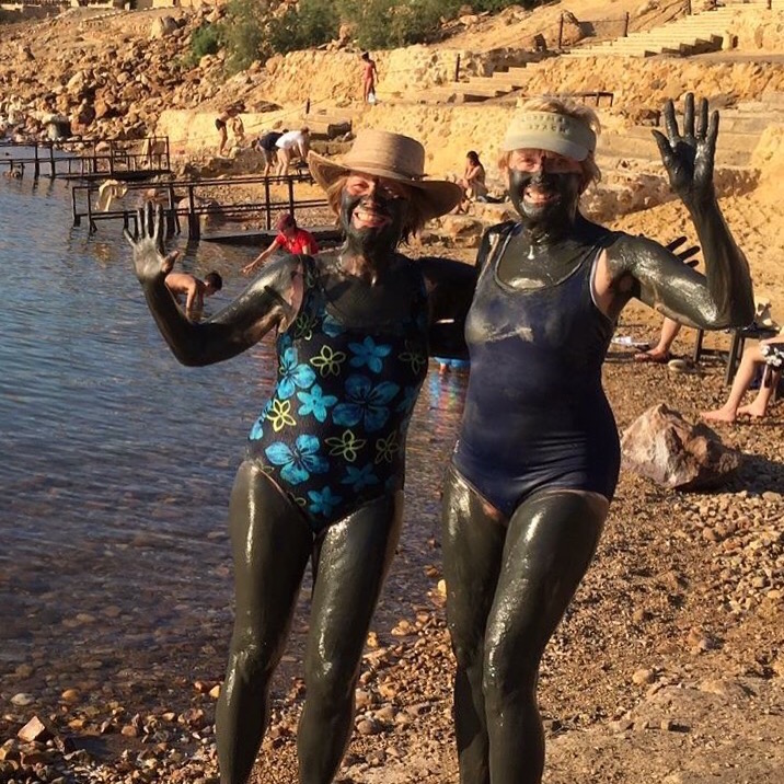 Mud matters in the Dead Sea