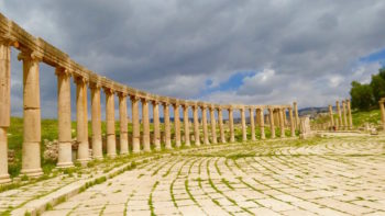 Ancient cities in Jordan invite strolling.