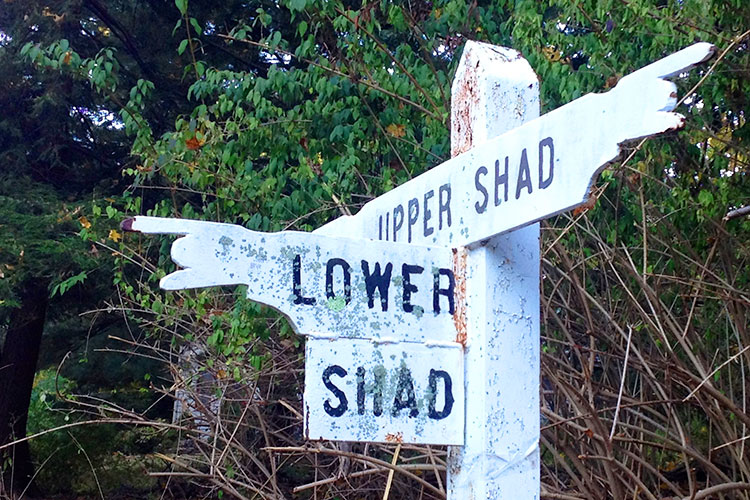 Photographing street signs can help you navigate a strange town to avoid Travel Mistake #1