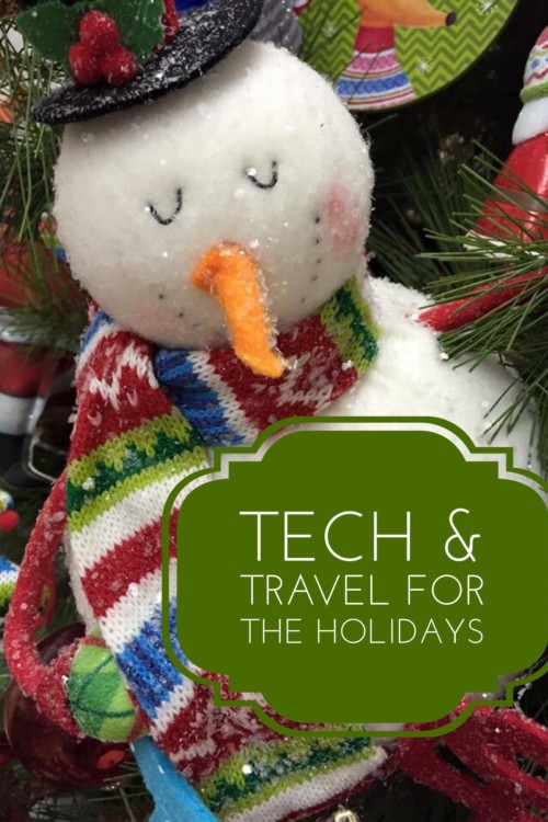 Perfect Pairings are these Tech and Travel gadgets for the Holidays