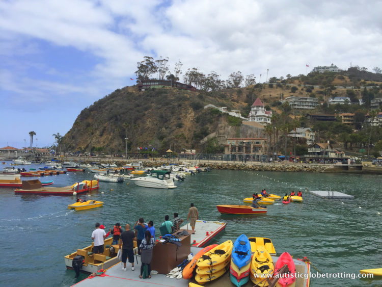 Catalina Island is a fun, family friend place for a relaxing day outside of LA. Take your family here for outdoor activities and lovely sights.