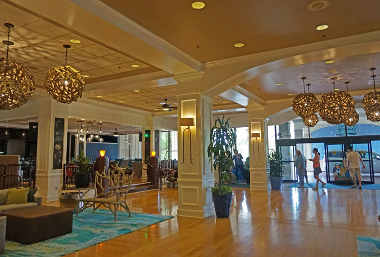 Lobby at Wyndham Lake Buena Vista