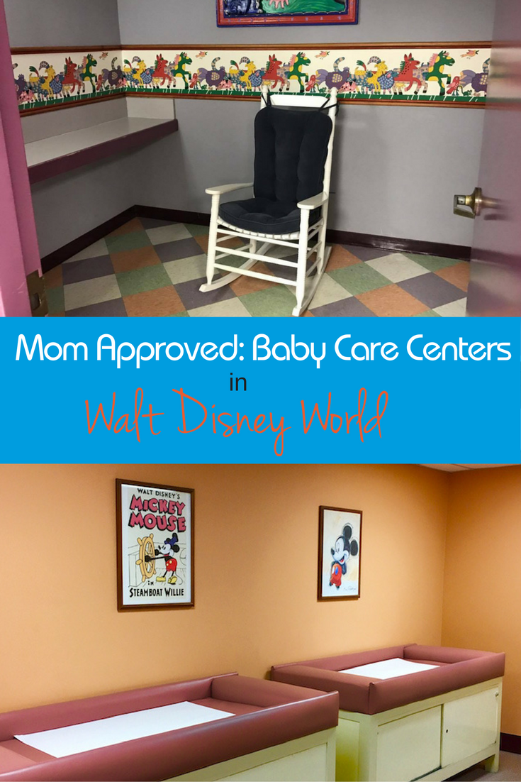 Traveling to Disney World with a baby? Looking for somewhere to breastfeed in the parks? Disney World Baby Care Centers have our Mom stamp of approval.