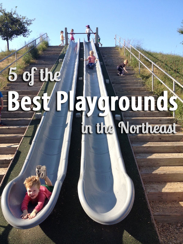 The Northeast's best playgrounds - 5 amazing places for kids to play around the Northeast and New England