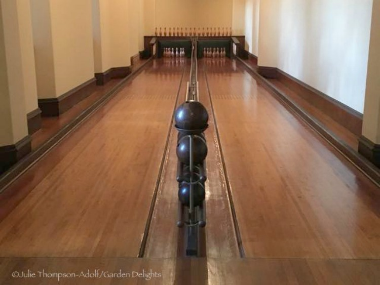 Biltmore House Bowling Alley
