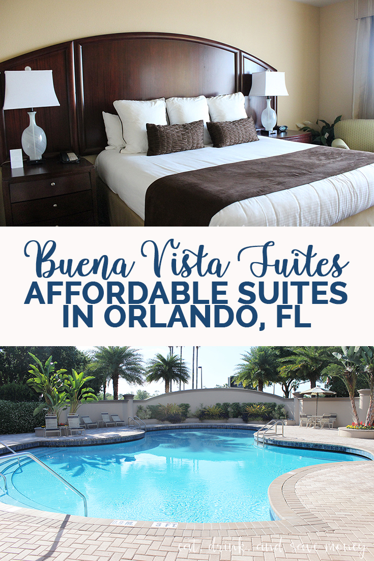 Buena Vista Suites review: an affordable suite option in Orlando, FL. Photo Credit: Hannah Rinaldi, Fabulously Frugal Traveling Mom