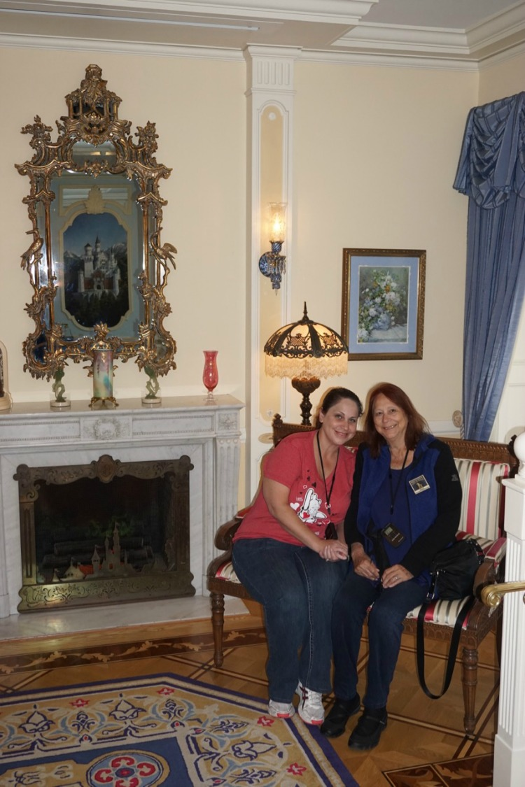 It turned out it wasn't just a dream. This picture is proof that we were there in the Dream Suite, while on the Walt's Disneyland Footsteps Tour! Photo by Multidimensional TravelingMom, Kristi Mehes.