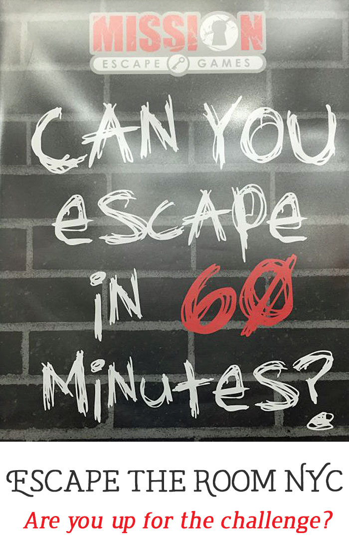Escape the Room NYC: What to expect if you're up for the challenge!