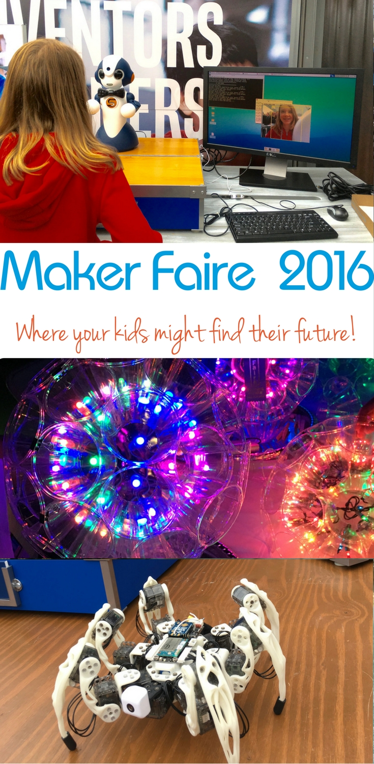 Gather with the next generation of inventors, creators, thinkers and makers at the Maker Faire. One TravelingMom shares her experience at NYC Marker Faire.