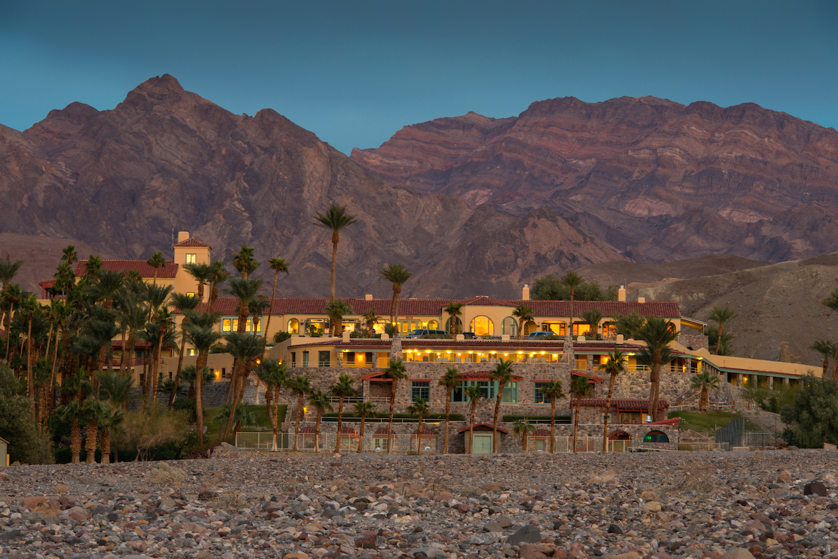 The Inn at Furnace Creek, luxury lodging in Death Valley, places to stay in Death Valley,