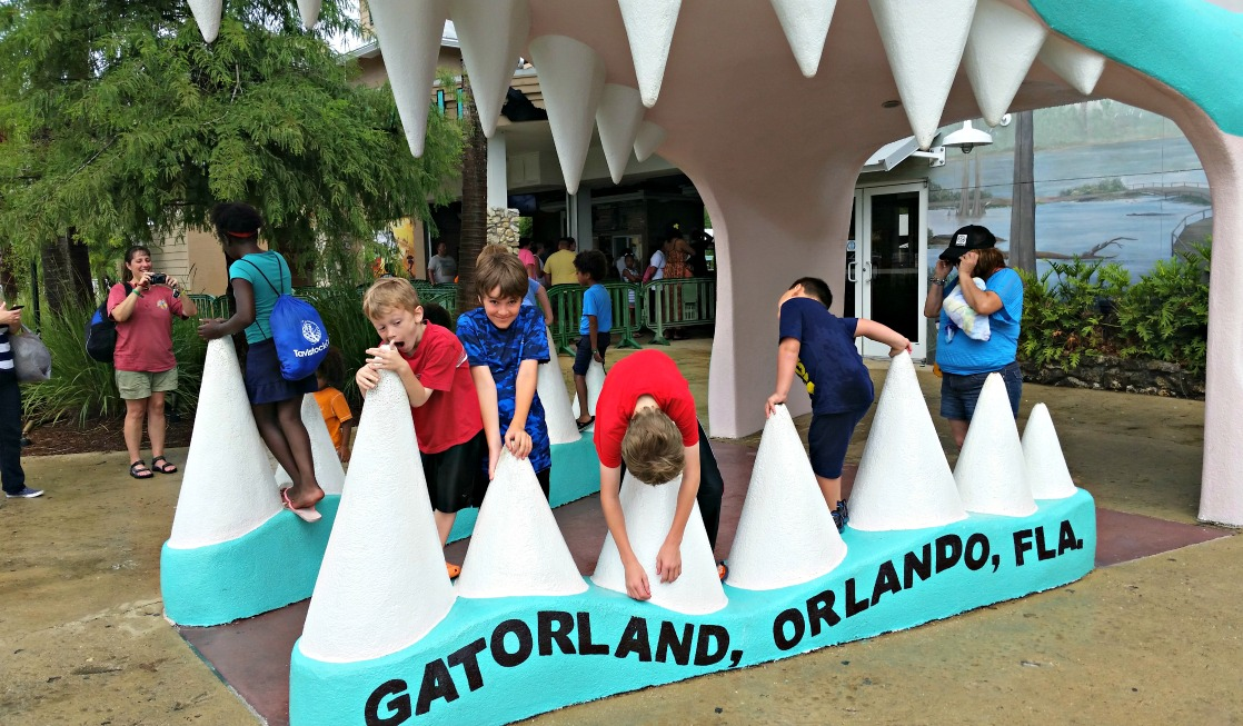 Orlando's Gatorland Theme Park has kitschy fun that families love!
