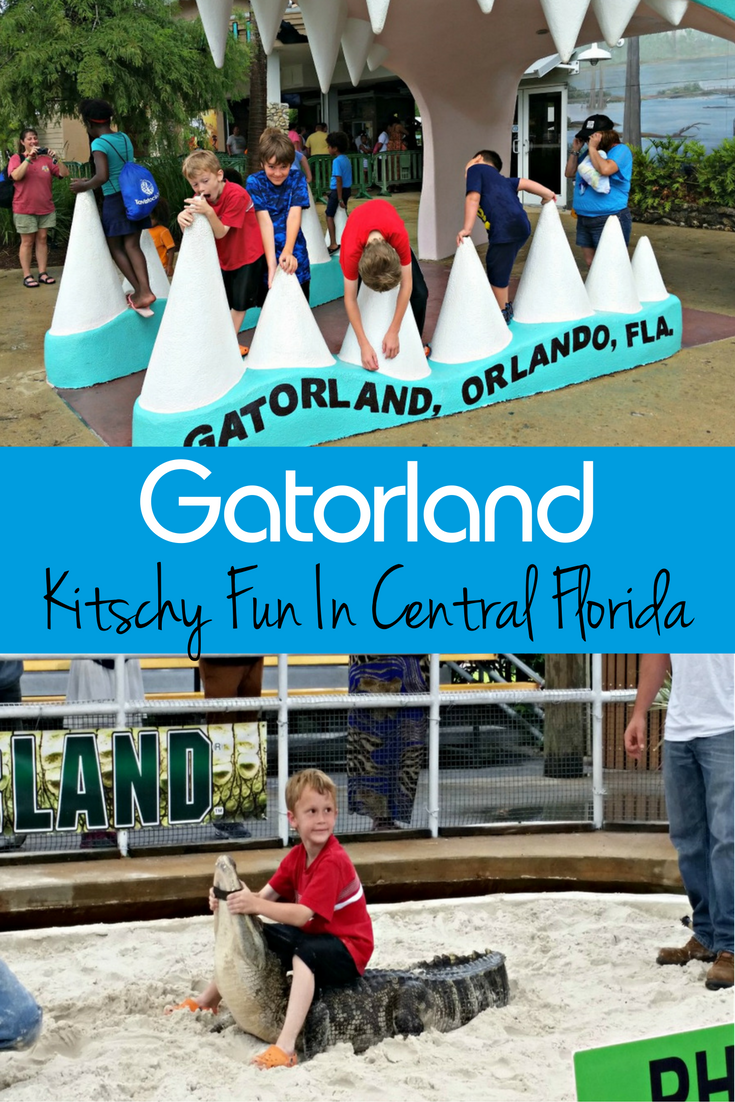 "Central Florida abounds in theme parks. Gatorland offers ""Old Florida"" kitschy fun packaged with hands-on environmental education."