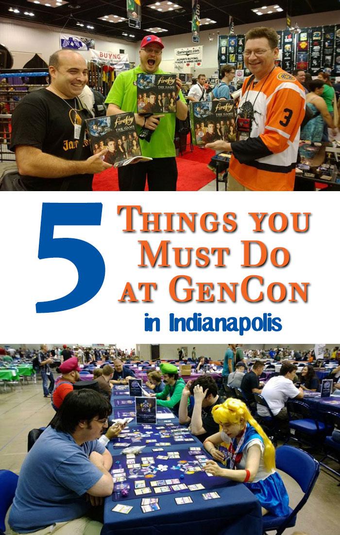 5 Must-Do Things at GenCon Indianapolis, Indiana