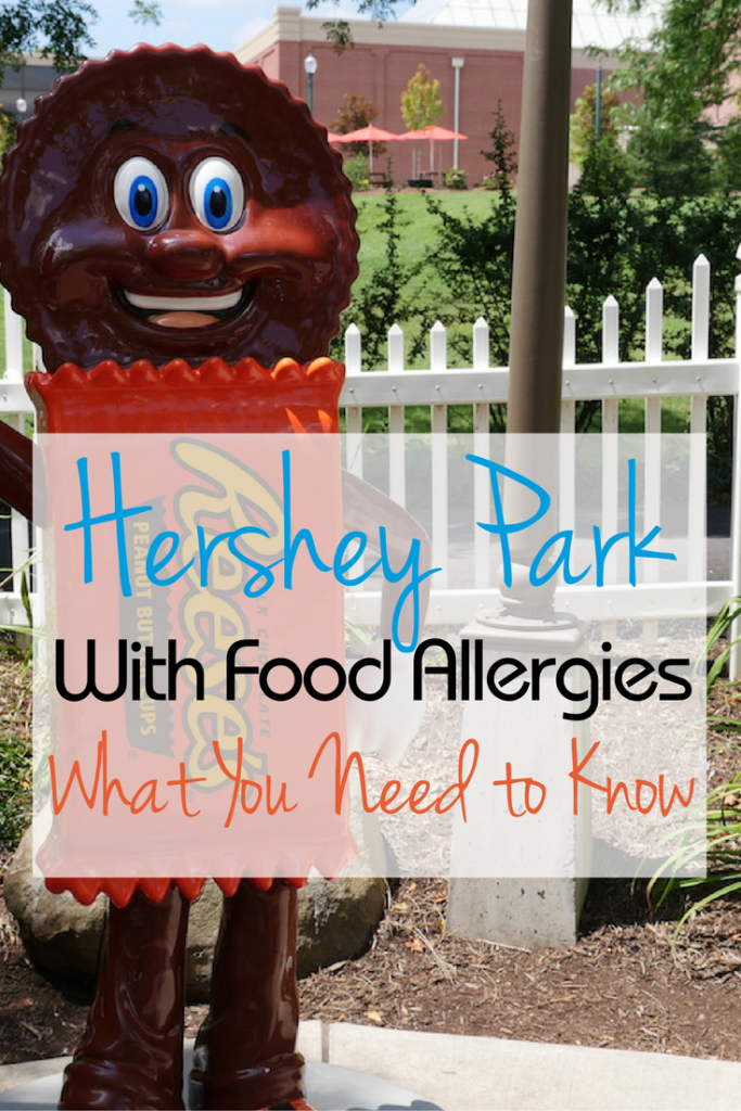 For kids with allergies visiting an amusement park can be a nightmare. Here's a look at visiting Hershey Park with food allergies from an allergy-mom.