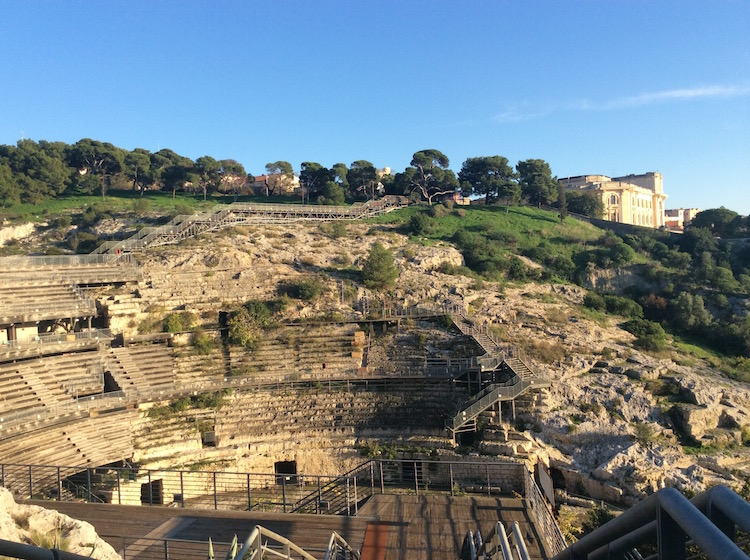 Did you know Sardinia has ruins of a Roman amphitheater?