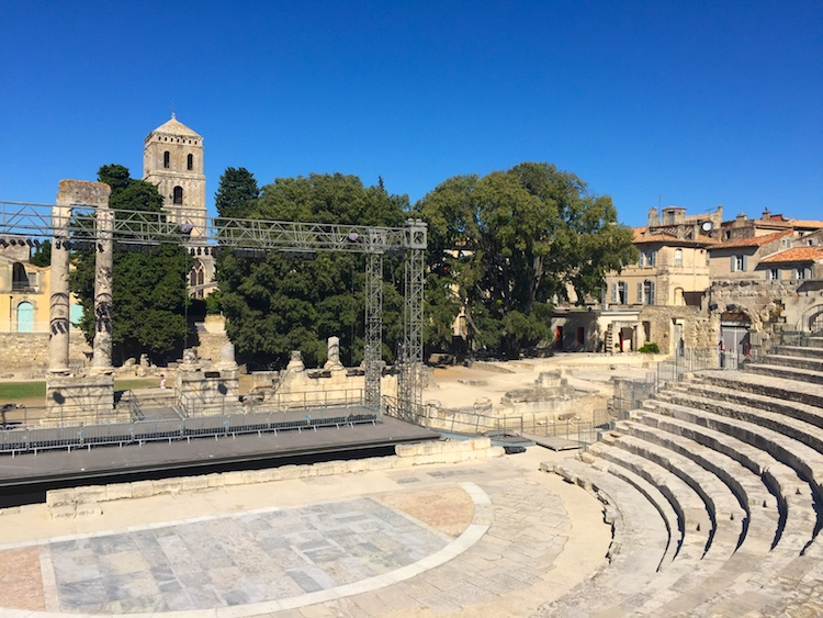 Roman theater in Arles, France