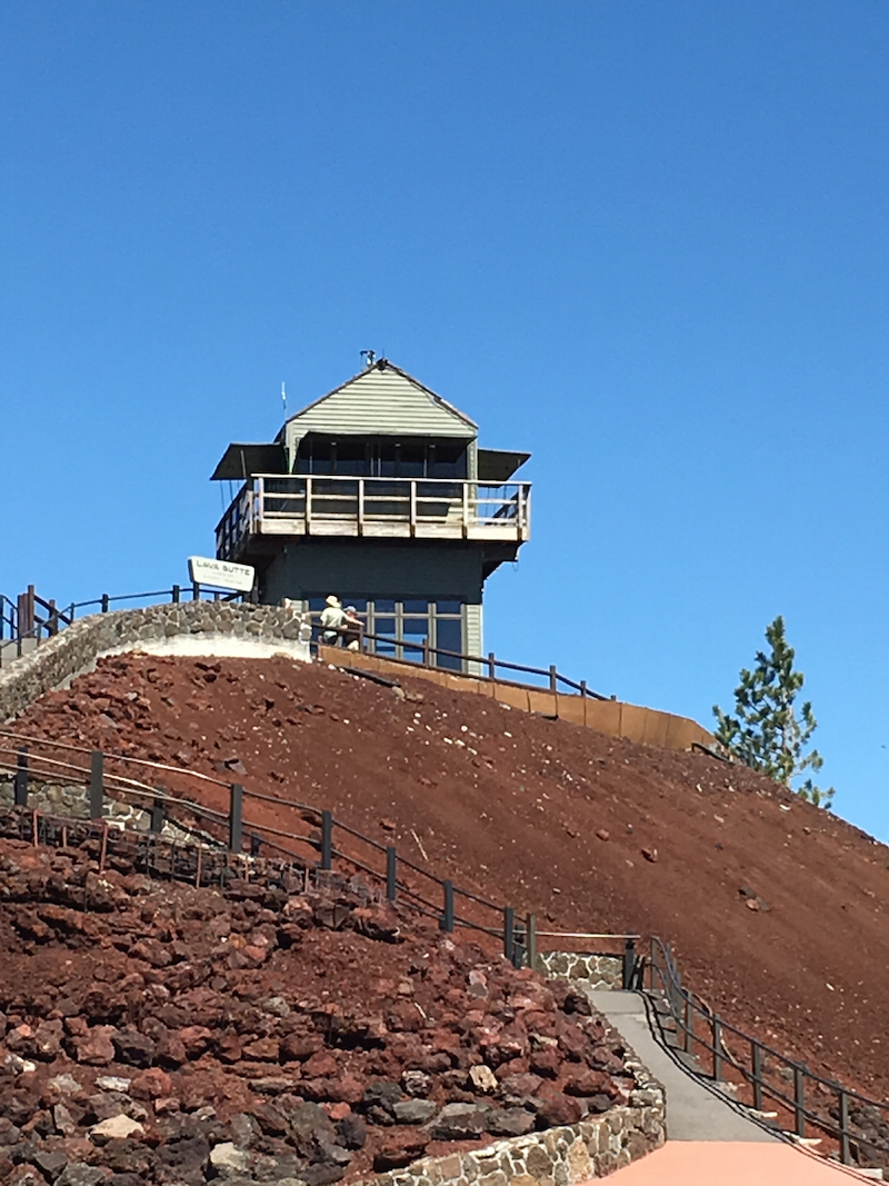 Lava Lands for kids, Newberry National Volcanic Monument for kids, Bend Oregon for families,