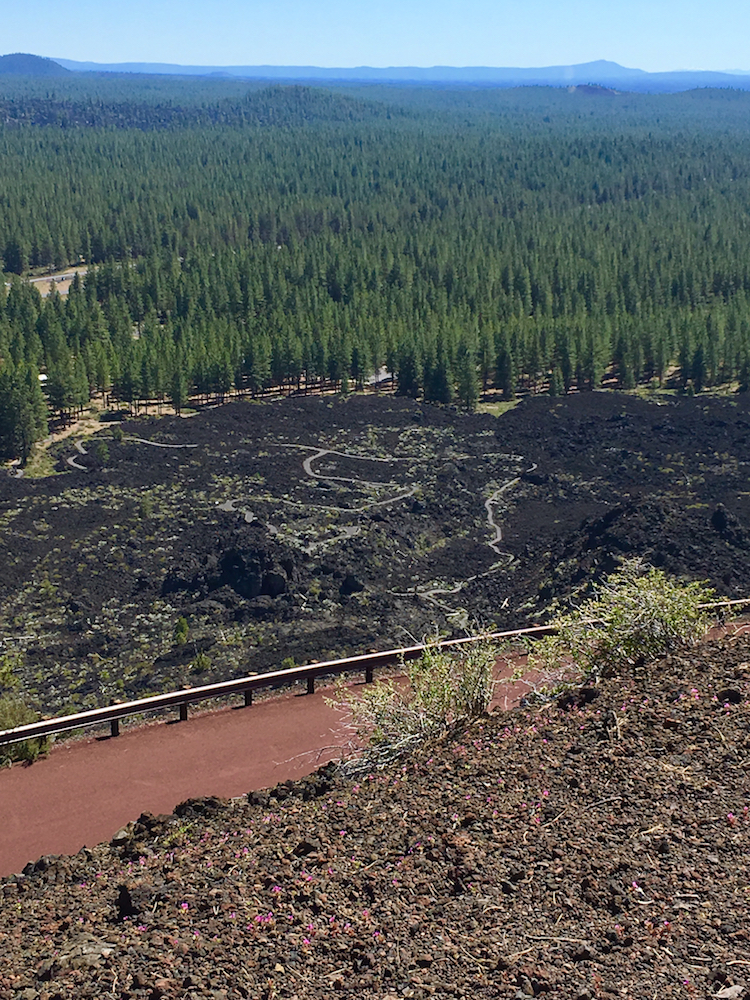 Newberry National Volcanic Monument for kids, lava butte for families, Bend Oregon for families,