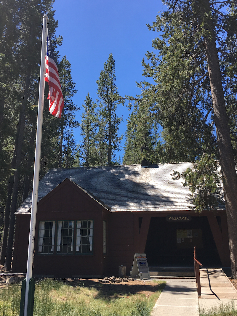 Newberry National Volcanic Monument for kids, Paulina Visitor Center, what to do in Bend Oregon with kids,