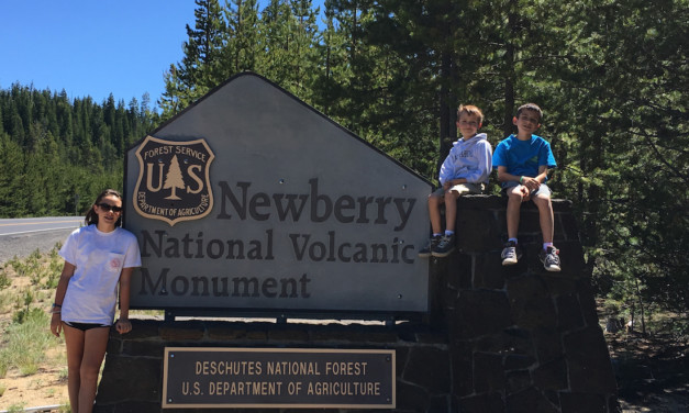 Hiking in a Volcano – Oregon's Newberry National Volcanic Monument with Kids