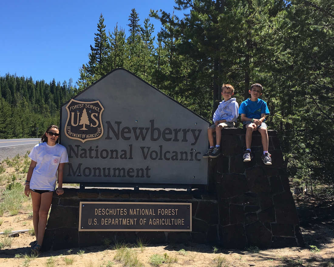 Newberry National Volcanic Monument, Oregon for families, Volcanoes you can explore,