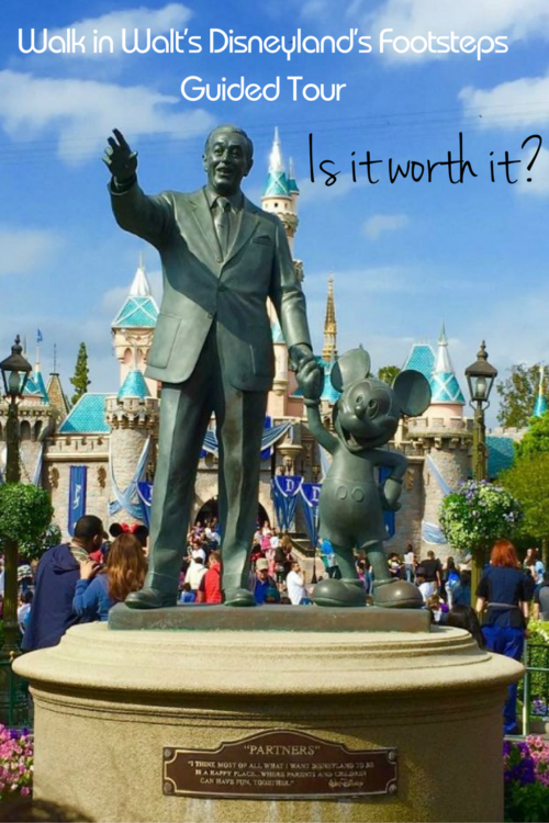 Is the Walk in Walt's Disneyland Footsteps Guided Tour worth the money? Photo by Travel Agent TravelingMom, Caroline Knowles.
