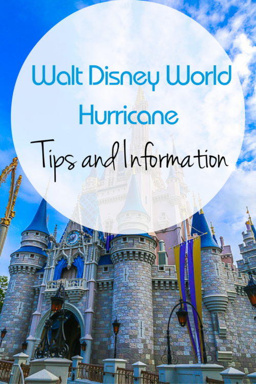 walt disney world hurricane