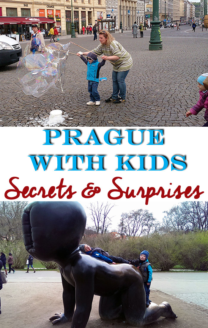 Tips for travel to Prague with kids.