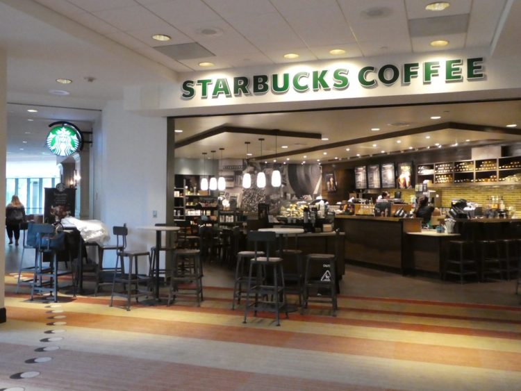 Sawgrass Marriott Starbucks Store in Lobby