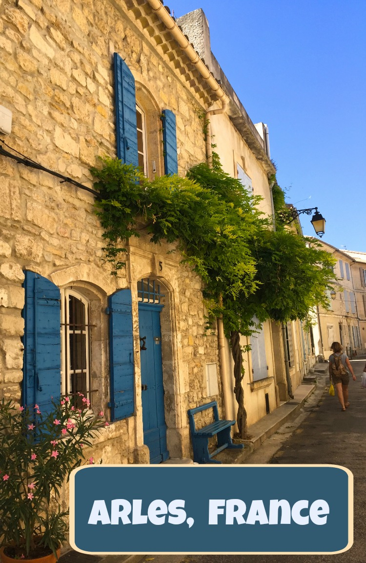 Arles, France is a walkable town with Roman ruins, great food, and a relaxed pace