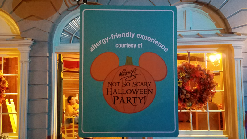 Have an Allergy-Friendly Experience at Mickey's Not So Scary Halloween Party Featured Imaged