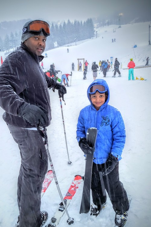 Beech Mountain in North Carolina is a great place for first time skiers to start out.