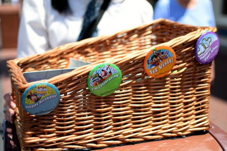 Did you know you can score free celebration buttons when you visit Disney World? And there's plenty more free stuff at Disney World!