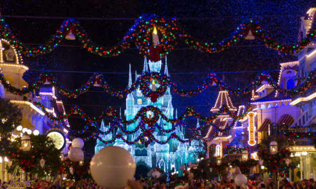 How To Christmas At Disney