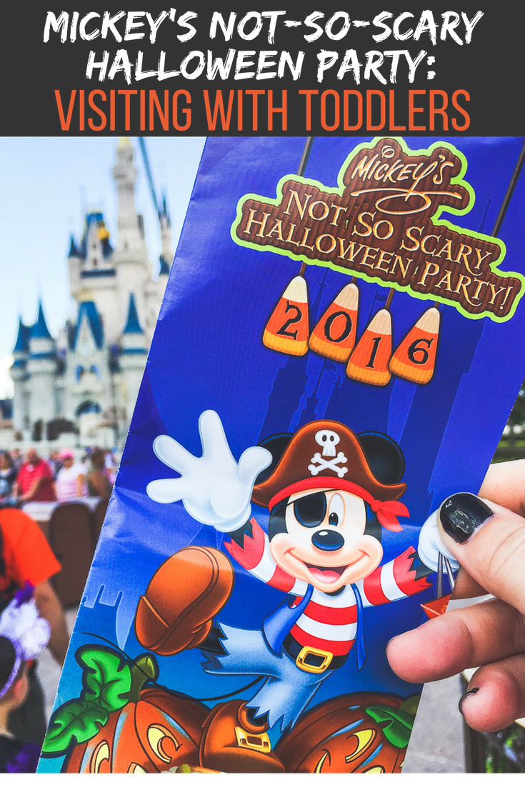 Mickey's Not-So-Scary Halloween Party for Toddlers| TravelingMom