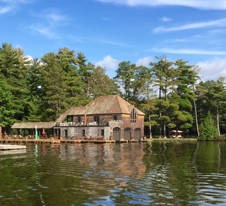 Grand era of boating still evident in the Wisconsin Northwoods. Photo by Christine Tibbetts, Cultural Heritage TravelingMom