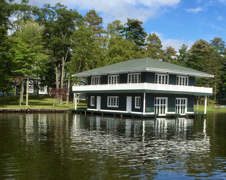 Changes on chains of lakes in Wisconsin Northwoods mean fewer handsome boathouses.