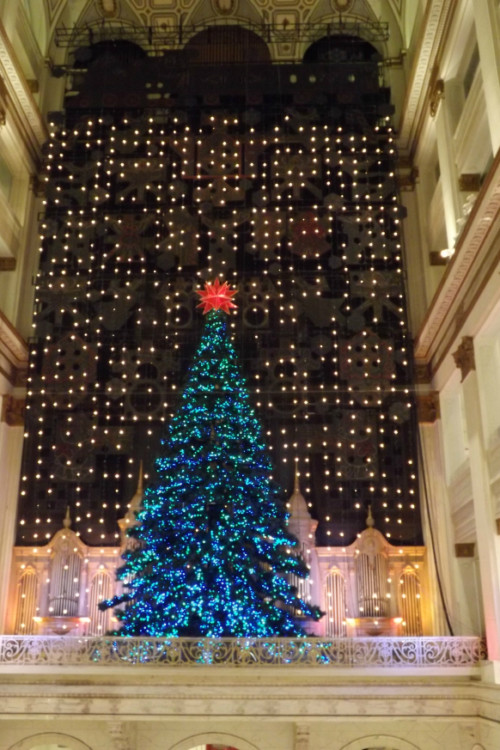 The magic of the holidays can inspire travel dreams! Photo by Mary Lebeau, East Coast TravelingMom