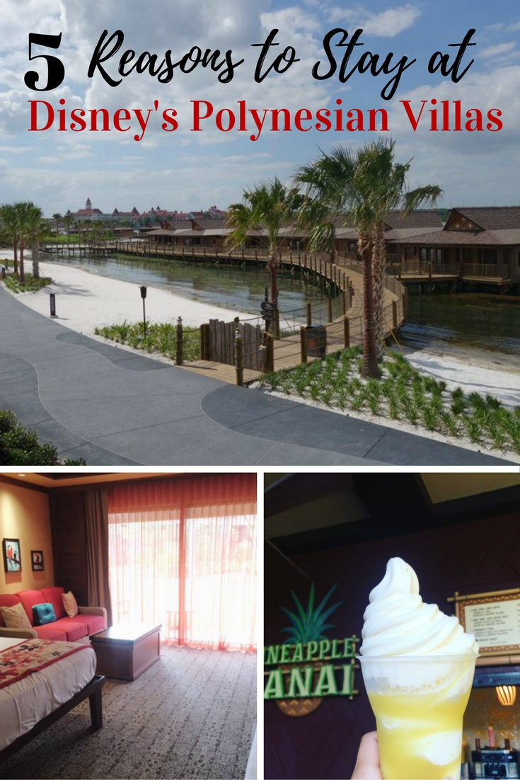 5 Reasons to Stay at Disney's Polynesian Villas & Bungalows. With 2 bathrooms and added amenities, the Deluxe Studios as part of Disney's Vacation Club are hard to beat!