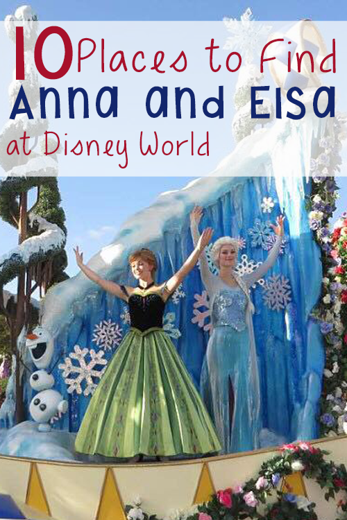 Anna and Elsa In the Festival of Fantasy Parade. Photo Credit: Lin Leffel/ Disney Mamas