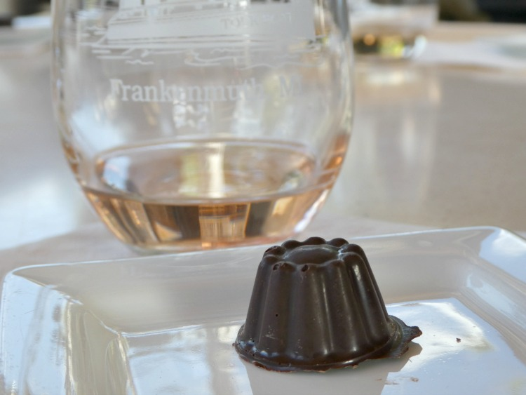 A Wine and Chocolate Pairing cruise with Frankenmuth FunShips is a fun and tasty way to learn about the area.