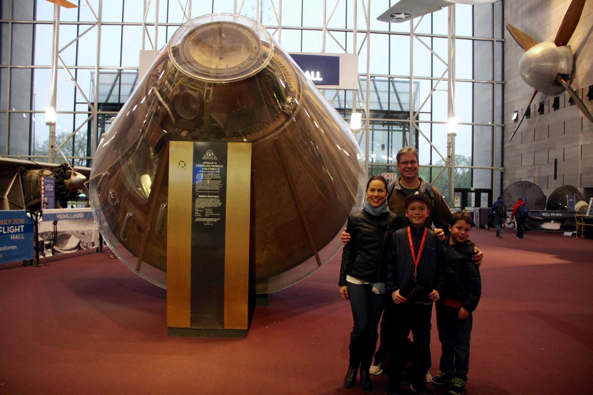 Want to blow the minds of shuttle-loving kids? Visit the National Air and Space Museum (NASM) in Washington, D.C. and get ready to watch!