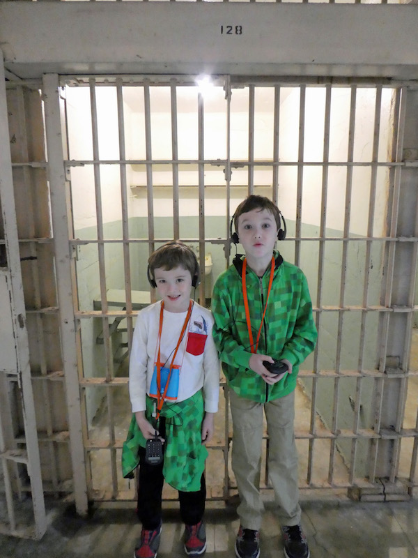 Alcatraz Island is perfect for Multigenerational Adventures in San Francisco