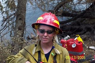 Amanda Williams, Rural TravelingMom and former badass firefighter. Photo courtesy of Amanda Williams / Rural TravelingMom