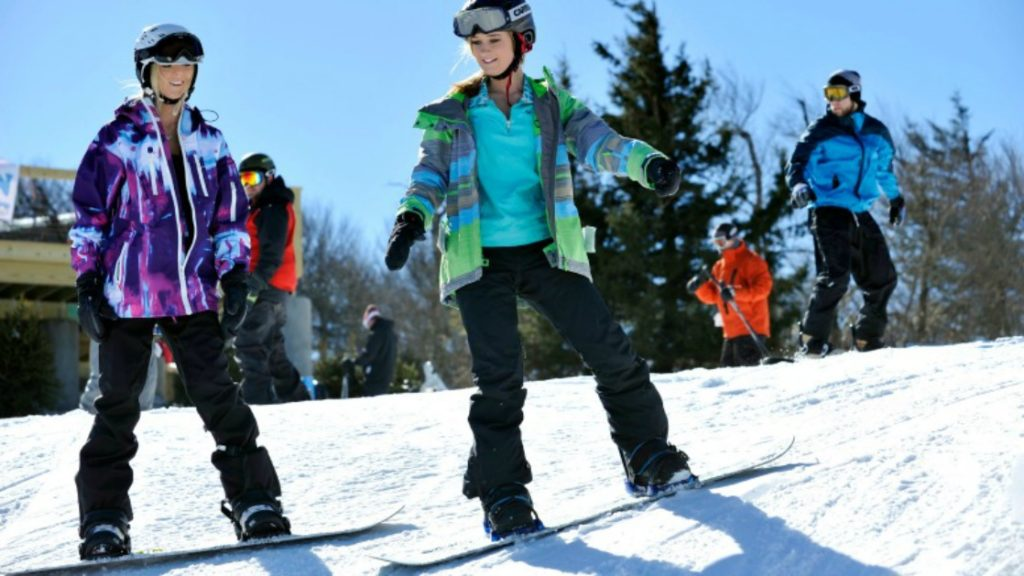 Where to find Snow in the South - Beech Mountain NC