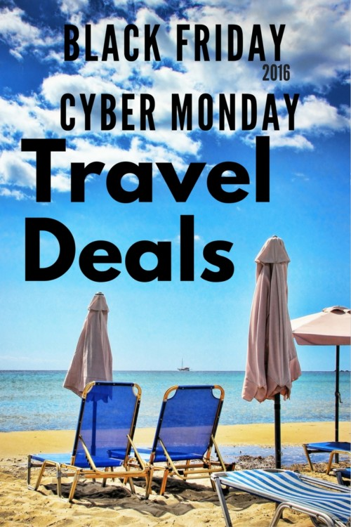 Black Friday Cyber Monday Travel Deals 2016