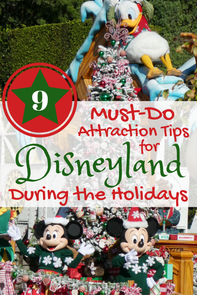 9 Reasons Why You Should Visit Disneyland During the Holidays